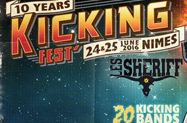 Le teaser du Kicking Fest' est en ligne !