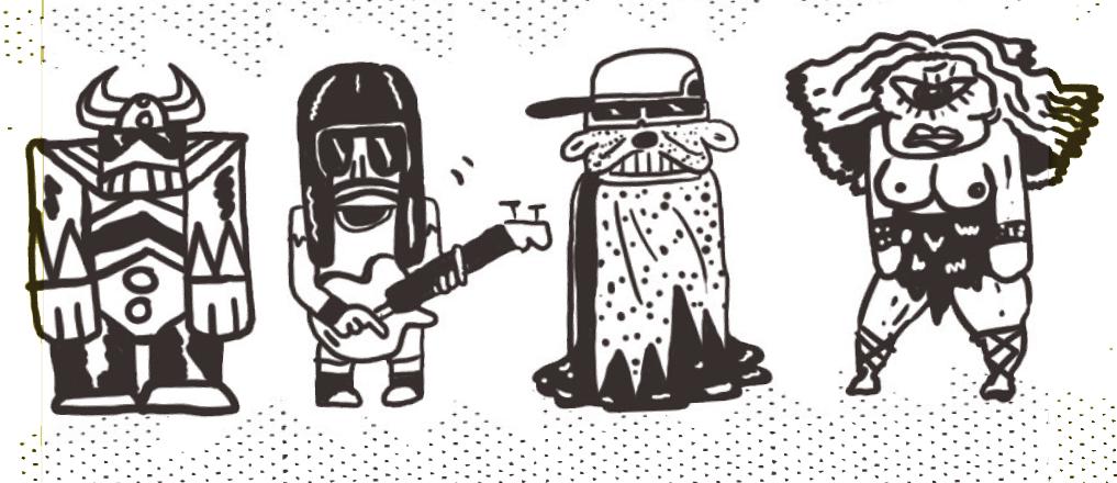 LA RENTRÉE DES MUSICIENS
