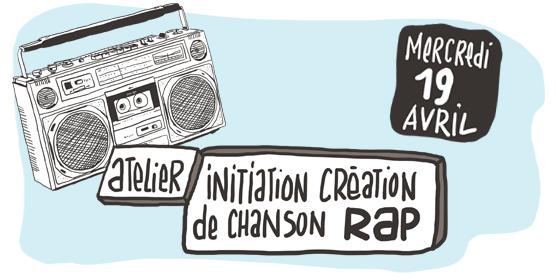 Atelier d'initiation à la création de chanson rap