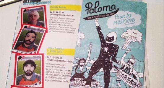 Paloma pour les musiciens : le nouveau support de communication !