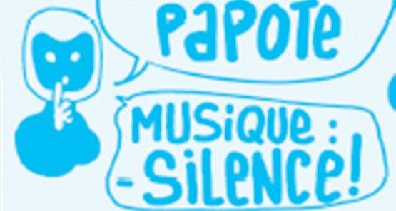 Paloma Papote : Musique – Silence !  Hors-les-murs : le Cric – 20h à 22h !!!