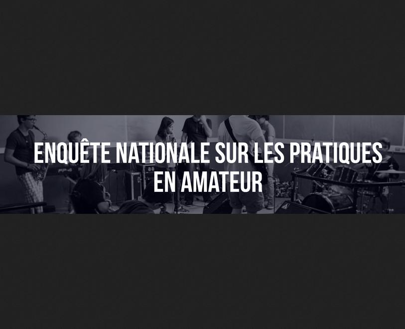 Étude nationale : la musique en amateur