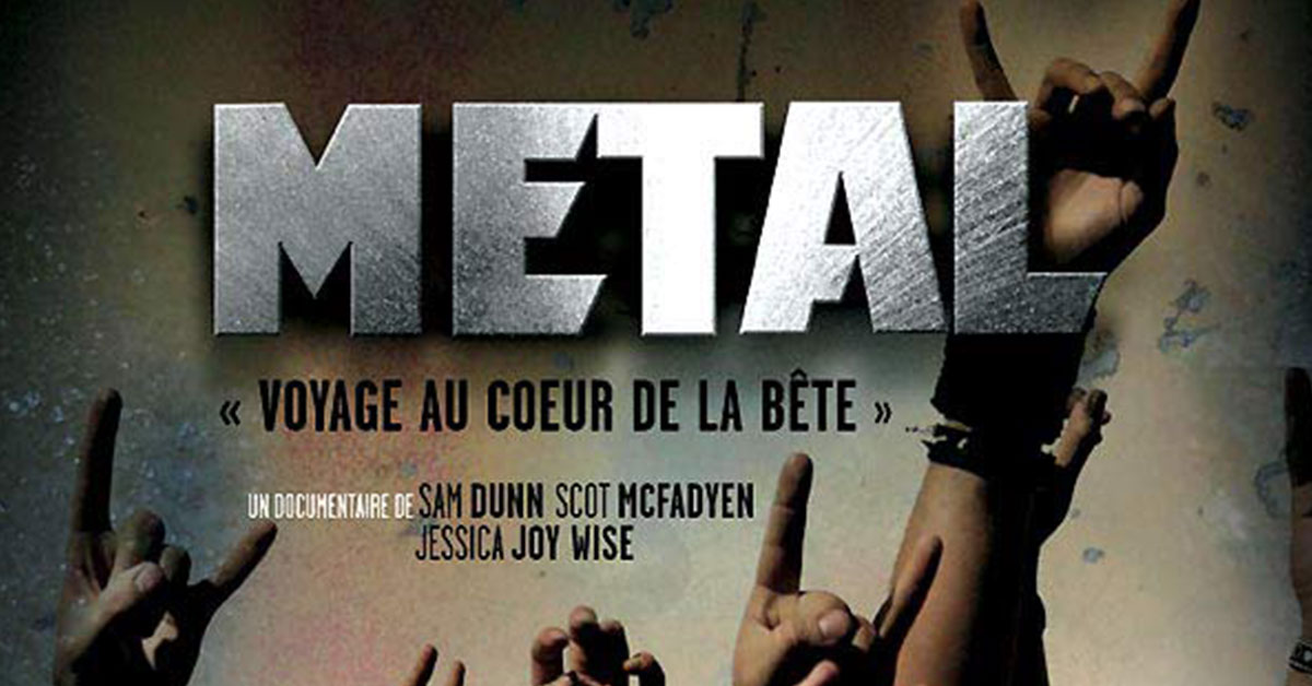 Projection du film « Metal: a Headbanger's Journey »